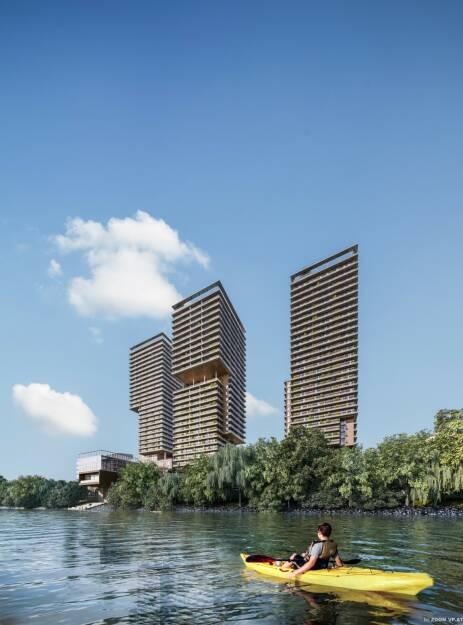 Otto Immobilien GmbH: TRIIIPLE: OTTO Immobilien erhält Auftrag zur Vermarktung von rund 250 Wohnungen in Turm I und II, Fotocredit:ZOOMVP (11.02.2019)