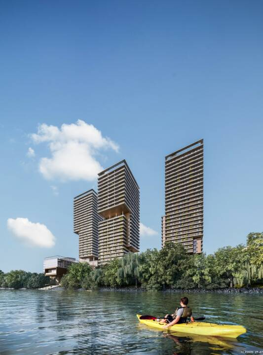 Otto Immobilien GmbH: TRIIIPLE: OTTO Immobilien erhält Auftrag zur Vermarktung von rund 250 Wohnungen in Turm I und II, Fotocredit:ZOOMVP