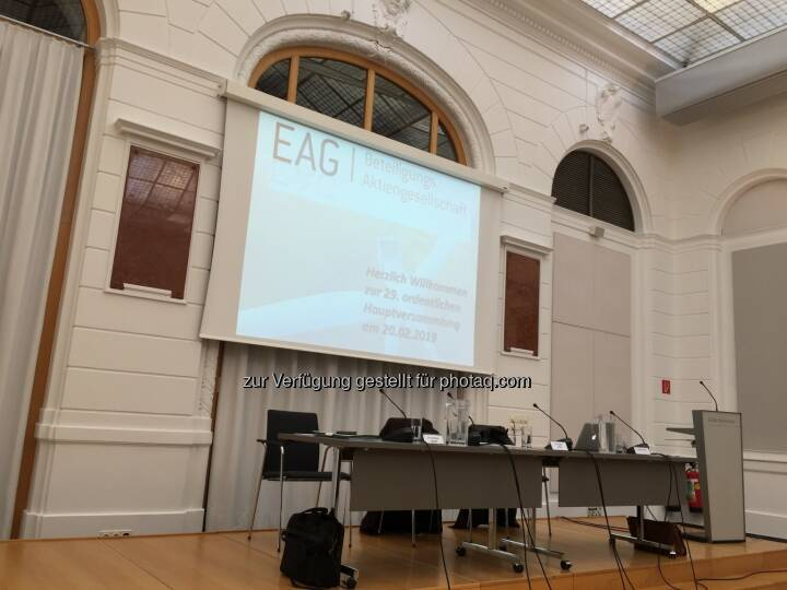EAG-HV 20.2.19 Reitersaal Kontrollbank