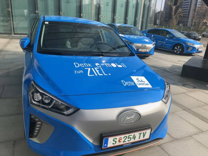 Uniqa, E-Auto, Mobilität, Elektro-Fahrzeuge, Credit: BSM