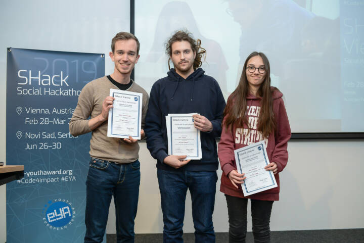 Bundesrechenzentrum GmbH: fit 4 future gewinnt Hackaton im BRZ: innovative Anwendungen verbessern die Gesellschaft der Zukunft, Credit: EYA/E. Ellerdorfer