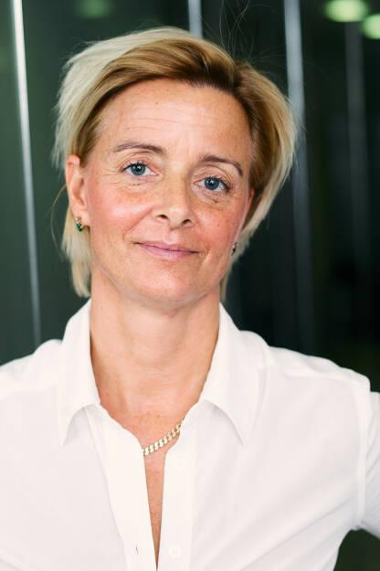 Valerie Brunner übernimmt mit der Leitung des Bereichs Institutional Clients der RBI konzernweite Verantwortung für den Ausbau dieses Geschäftsfelds; Credit: Raiffeisen (06.03.2019)