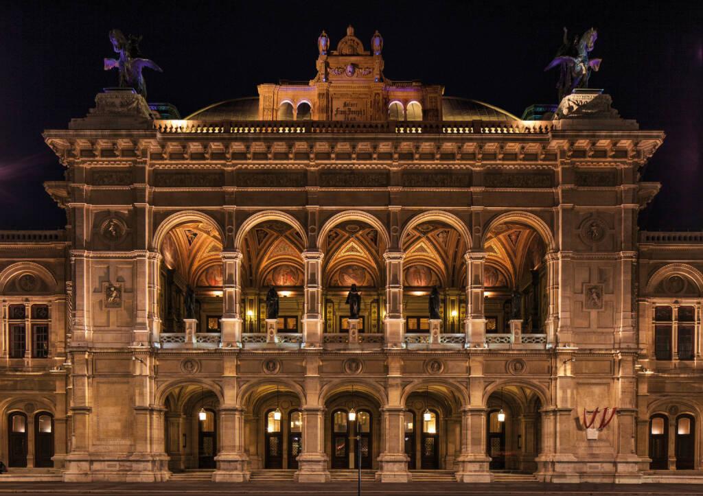 PID Presse- und Informationsdienst der Stadt Wien: Städteranking: Wien verteidigt ersten Platz in Europa, Bild: Wiener Staatsoper, Fotocredit: WienTourismus, © Aussender (07.03.2019)