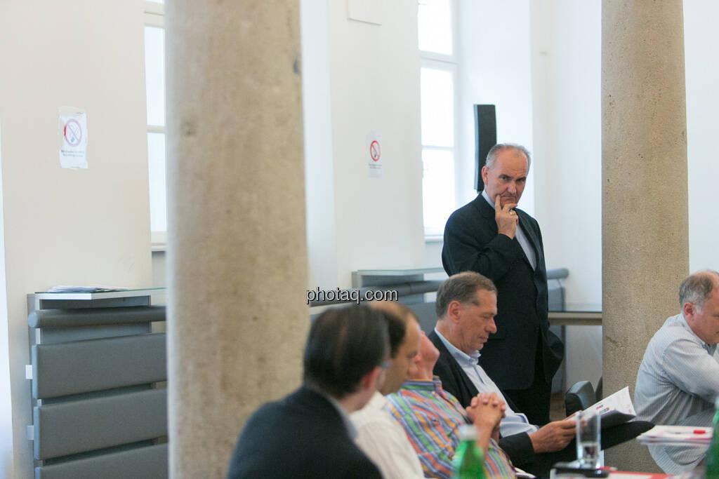 Johann Marihart (Agrana) beim 5. Small Cap Day - Wiener Börse / C.I.R.A., © finanzmarktfoto.at/Martina Draper (20.06.2013)