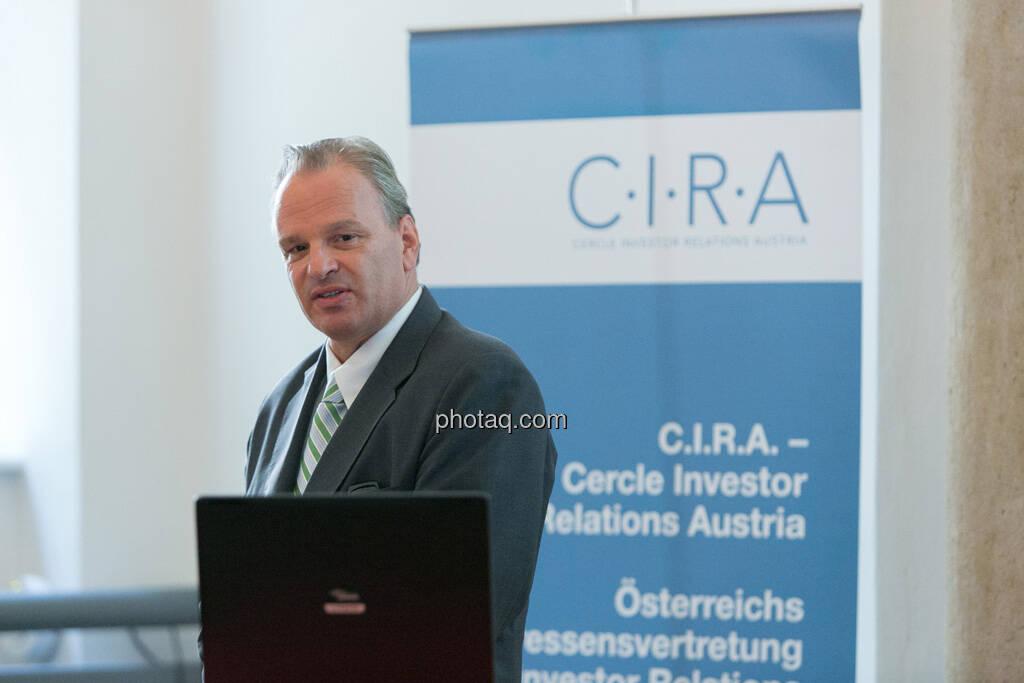 Andreas Feuerstein (S-Immo) beim 5. Small Cap Day - Wiener Börse / C.I.R.A., © finanzmarktfoto.at/Martina Draper (20.06.2013)