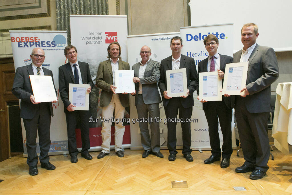 VC-/PE-Award-Sieger 2013, © Martina Draper für BE (20.06.2013)