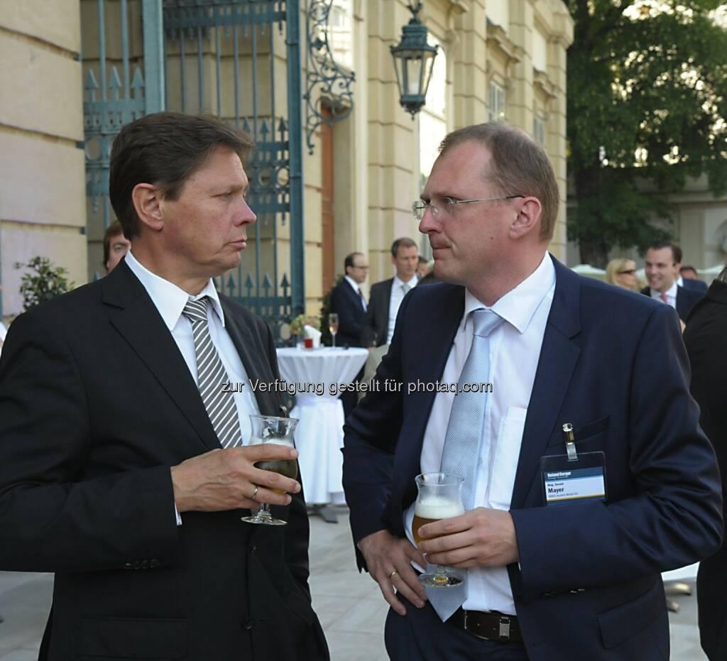 Wolfgang Anzengruber (Verbund), Gerald Mayer (AMAG Austria Metall AG), © Copyright Roland Berger Strategy Consultants, alex dobias 2013 alex@dobias.at (23.06.2013)