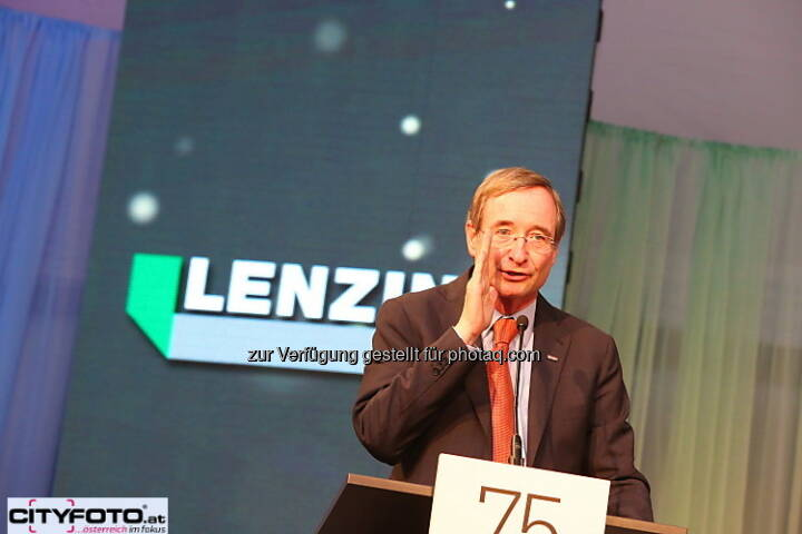75 Jahre Lenzing: Christoph Leitl
