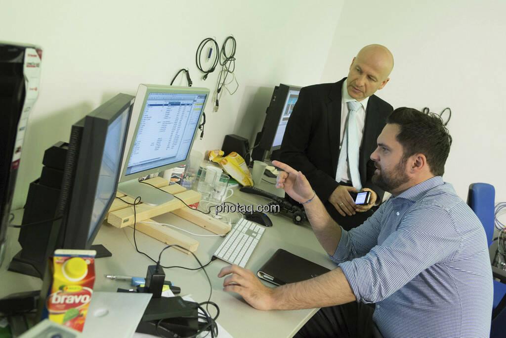 Erste Group Research TV, Georg Wachberger, © Martina Draper (15.12.2012)