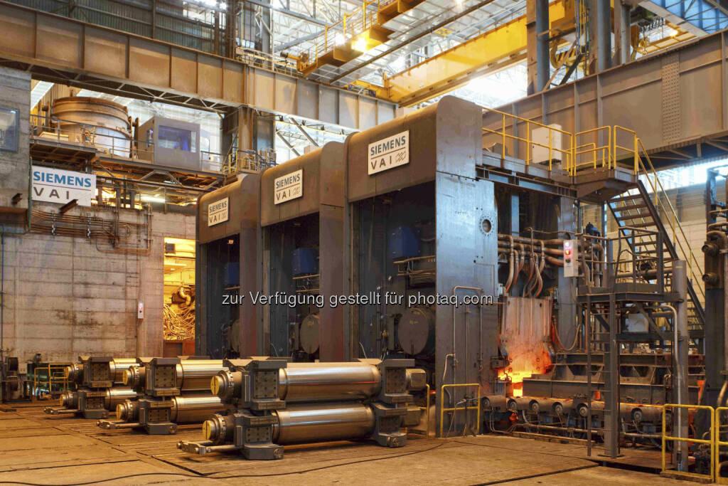 Siemens liefert zwei Gießwalzanlagen an chinesischen Stahlerzeuger (Siemens VAI, Ex-VA Tech) (c) Siemens (24.06.2013)