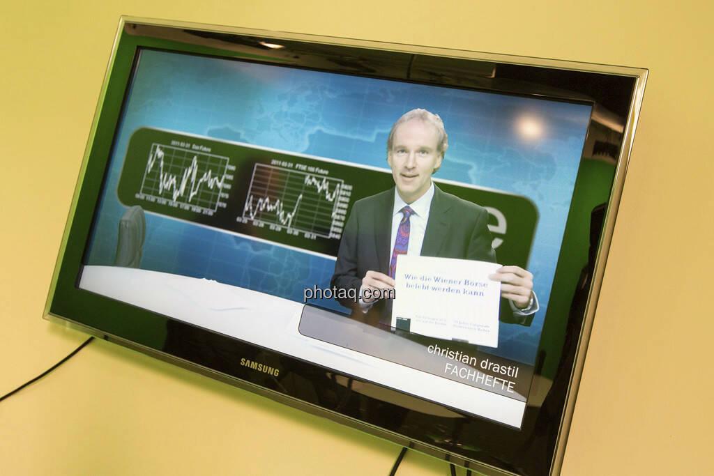 Erste Group Research TV - Christian Drastil (CD Comm.), © Martina Draper (15.12.2012)