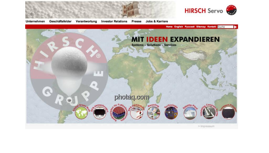 Hirsch Servo ist am 25.6.1997 an die Wiener Börse gegangen und hat das fit-Segment begründet (25.06.2013)