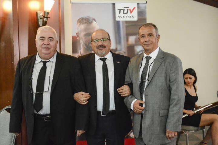 TÜV AUSTRIA Group: TÜV AUSTRIA Group erwirbt ZfP-Pionier Sila Kalite; von links: Halit Battal, Mehmet Bozkırlı and Reha Güncan; Fotocredit: TÜV AUSTRIA Turk