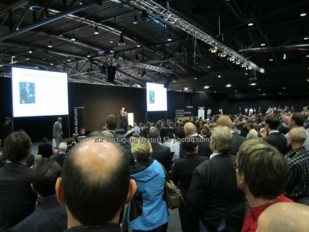 Die Vorträge waren wie immer hervorragend besucht!, © IRW-Press (15.12.2012)