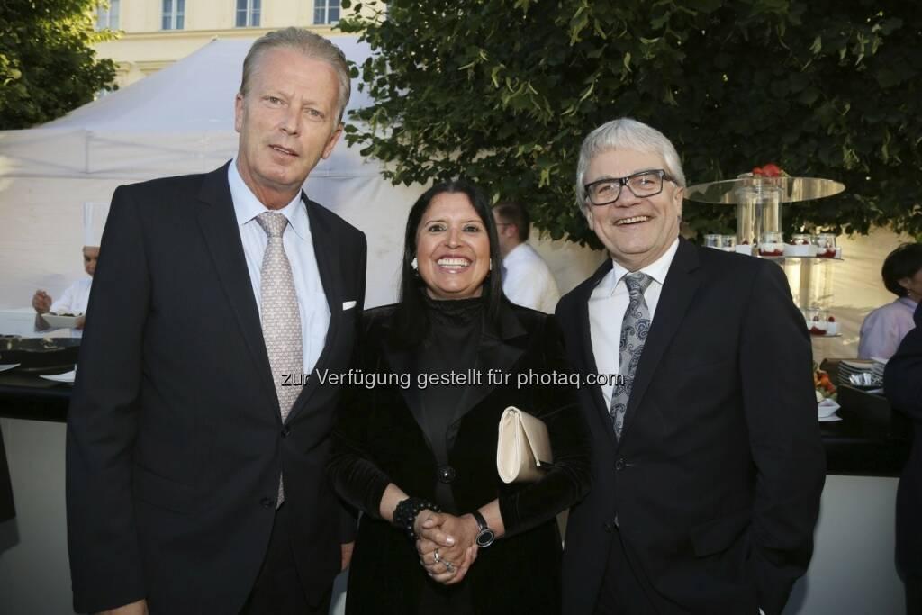 Mitterlehner, Gabriele und Wolfgang Eder, © RLB OÖ/Strobl  (02.07.2013)