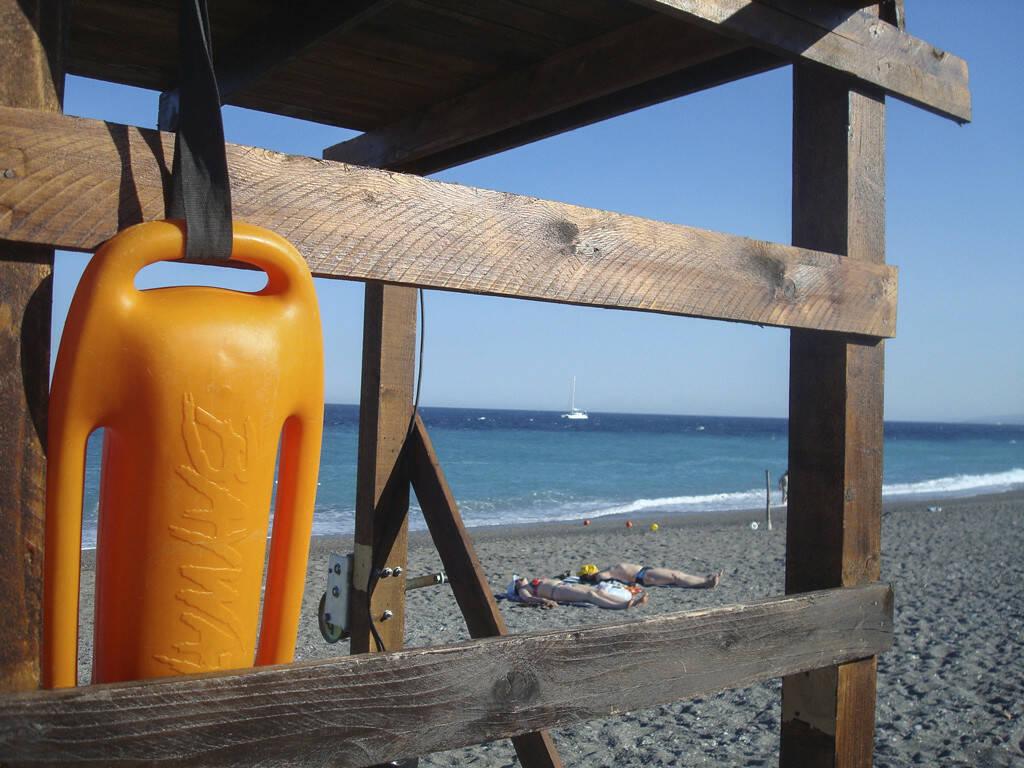 Strand, Boje, Sizilien, © Gabriele Hartweger (05.07.2013)
