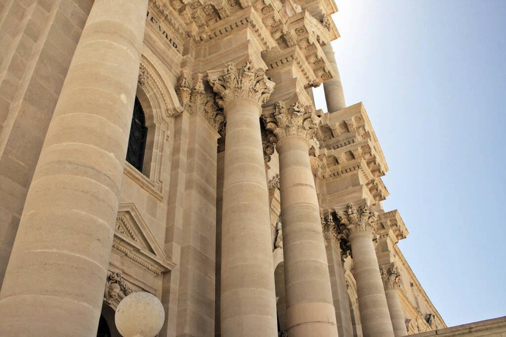 Kathedrale, Syrakus, Sizilien, © Gabriele Hartweger (05.07.2013)