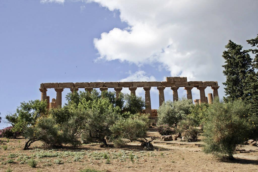 griechischer Tempel, Agrigent, Sizilien, © Gabriele Hartweger (05.07.2013)
