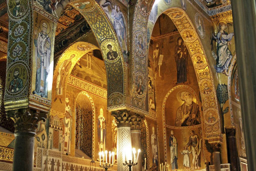 Kapelle Normannenpalast, Palermo, Sizilien, © Gabriele Hartweger (05.07.2013)