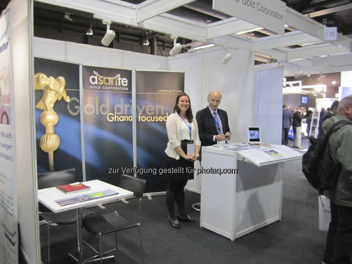 Douglas R. MacQuarrie und Francesca MacQuarrie von Asante Gold Corp.