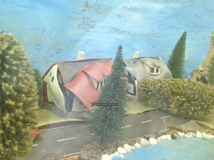 Immobilien, Immo, kaputte Häuser