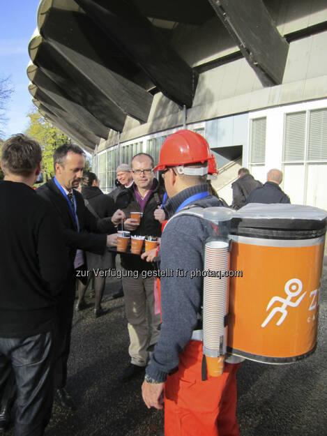Auch der IRW-Press CEO braucht einmal eine Stärkung!, © IRW-Press (15.12.2012)