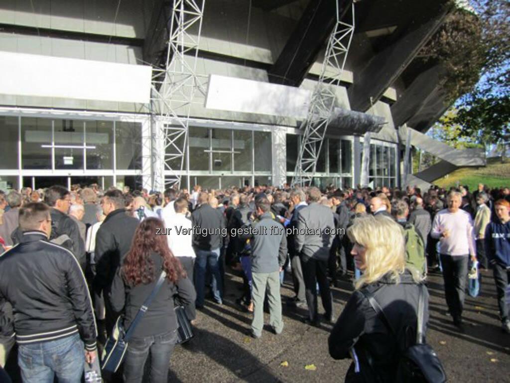 Der Besucherandrang war wie immer hervorragend!, © IRW-Press (15.12.2012)
