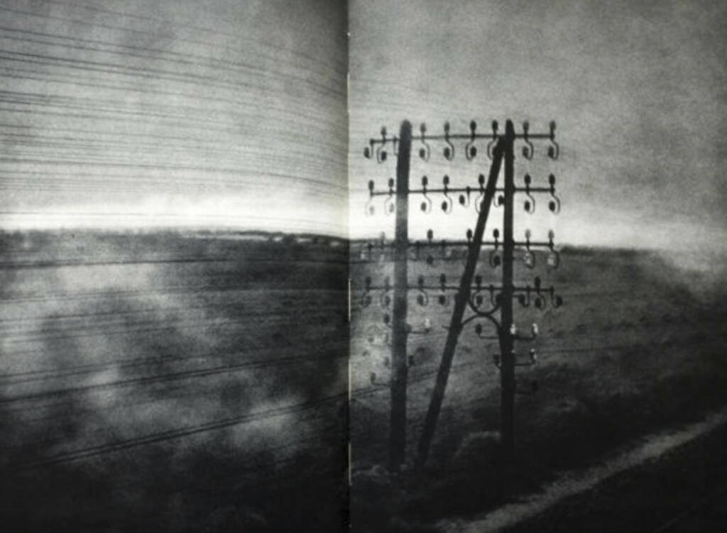 eine Seite aus Jakob Tuggener - Fabrik (Stromleitungen), Preis: 800-1500 Euro, http://josefchladek.com/book/jakob_tuggener_-_fabrik (08.07.2013)