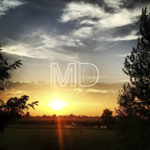 Sonnenuntergang, © www.martina-draper.at (08.07.2013)