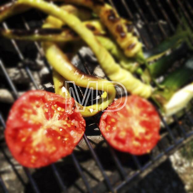 Gemüse am Grill, © www.martina-draper.at (08.07.2013)