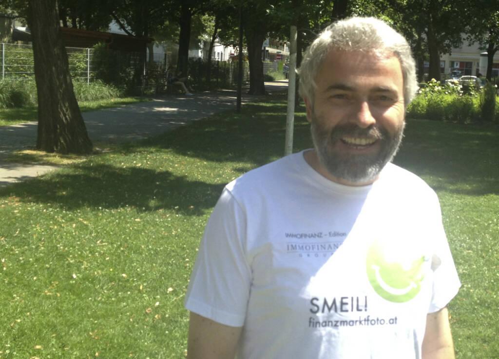 Fondsmanager Smeil! - Thomas Irmler (Shirt in der Immofinanz-Edition) (10.07.2013)