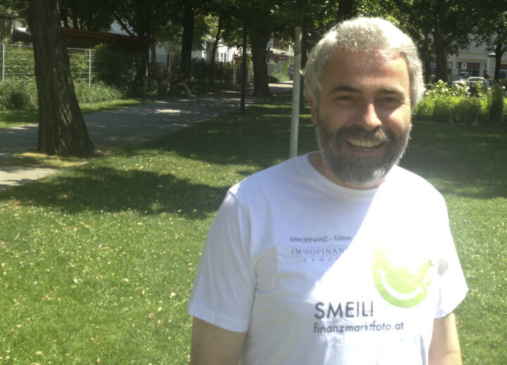 Fondsmanager Smeil! - Thomas Irmler (Shirt in der Immofinanz-Edition)