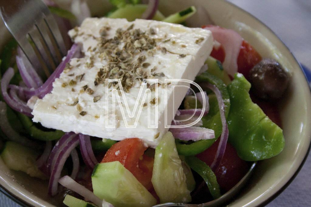 griechischer Salat, © www.martina-draper.at (11.07.2013)