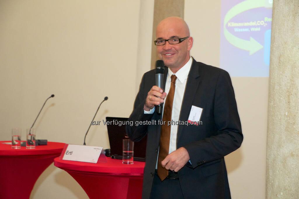 Peter Ertl (KPMG), © Wiener Börse, Claus Beischlager (15.12.2012)