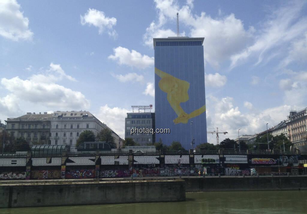 Ringturm, VIG, Donaukanal (14.07.2013)