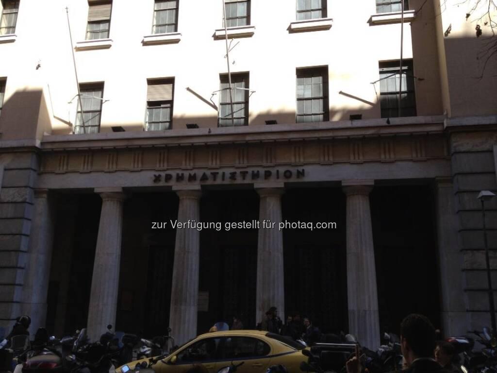Derivate Börse Griechenland, Athen , © Papakostas (14.07.2013)