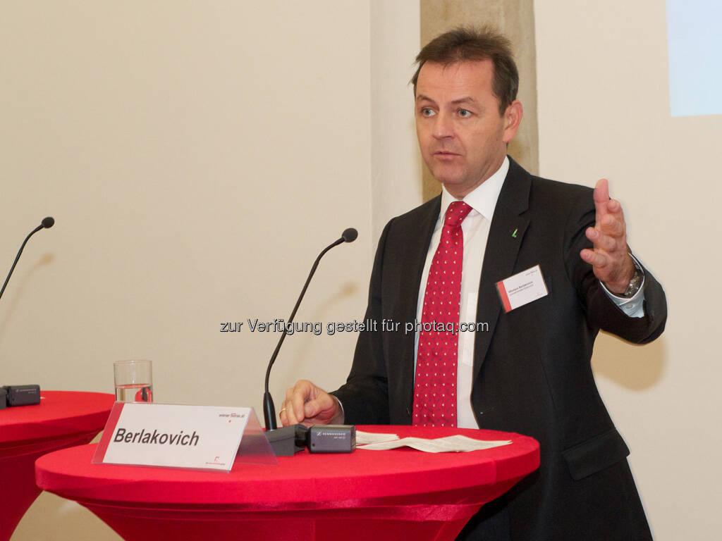 Nikolaus Berlakovich (Bundesminister), © Wiener Börse, Claus Beischlager (15.12.2012)