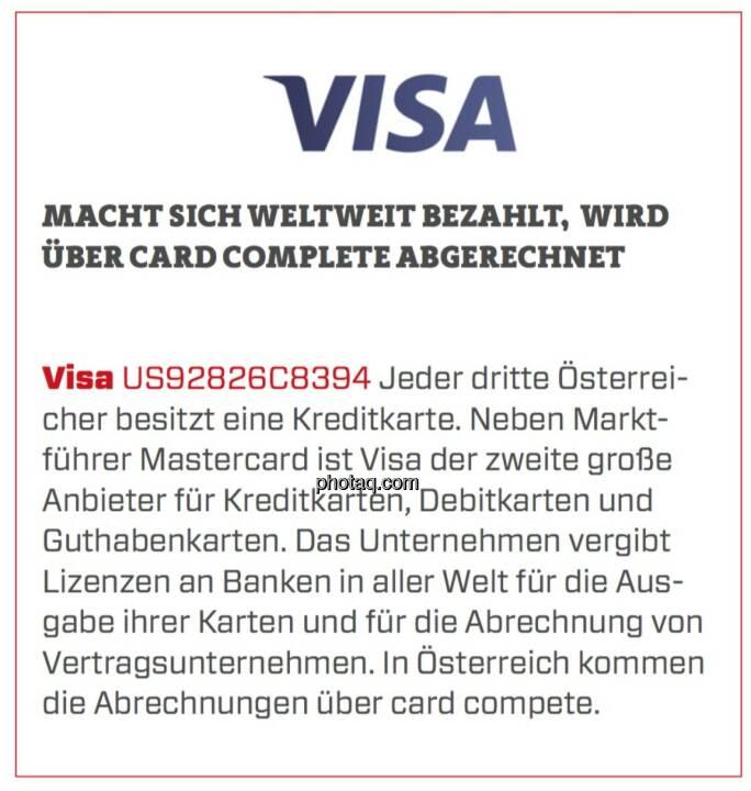 Wann Wird Visa Abgerechnet
