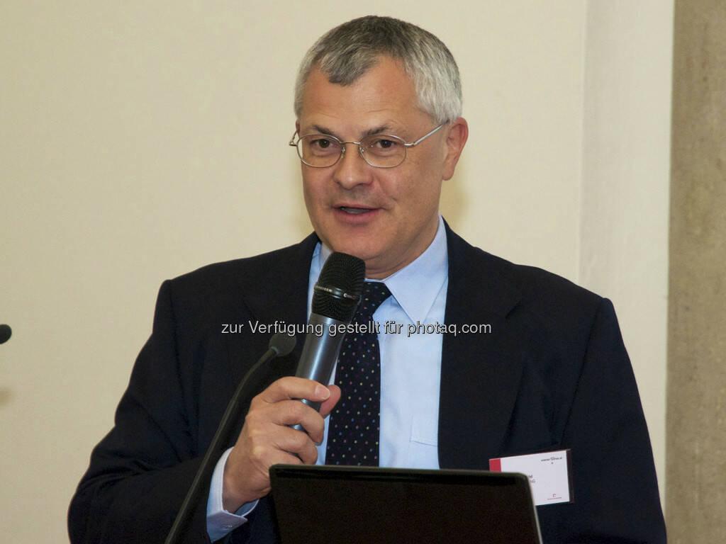 Michael Buhl (Wiener Börse), © Wiener Börse, Claus Beischlager (15.12.2012)
