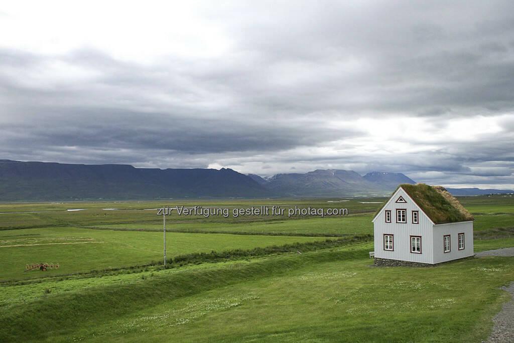 Haus - Island, © Gabriele Hartweger (15.07.2013)