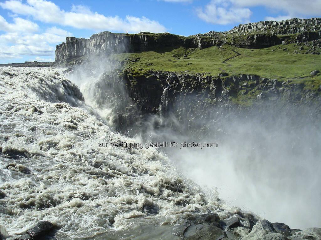 Dettifoss, Wasserfall, Island, © Gabriele Hartweger (15.07.2013)