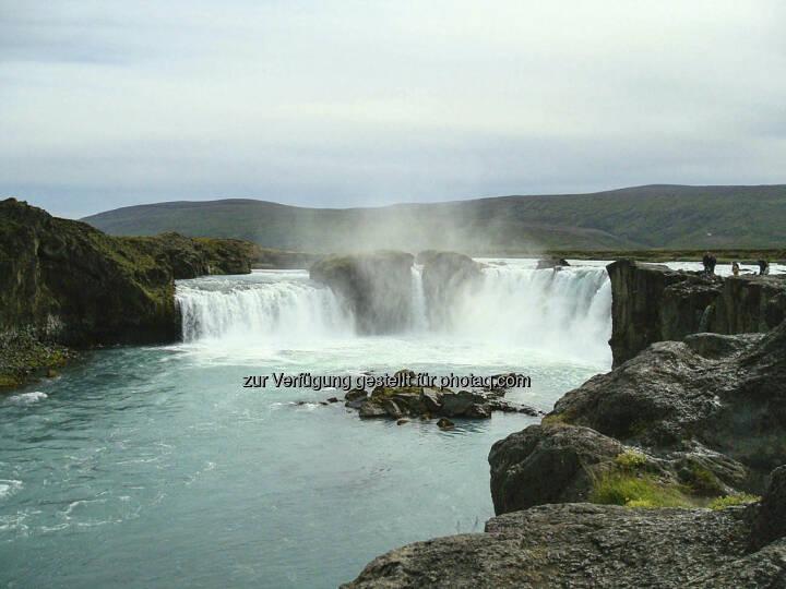 Gdafoss, Wasserfall - Island