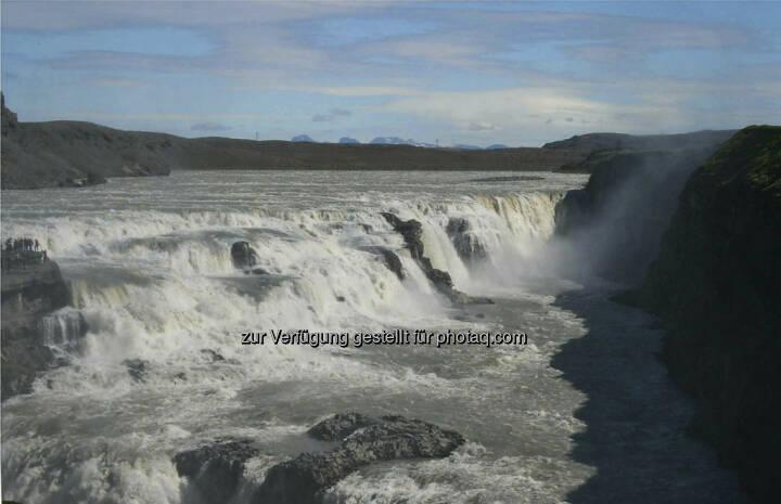 Gulfoss, Wasserfall  -  Island