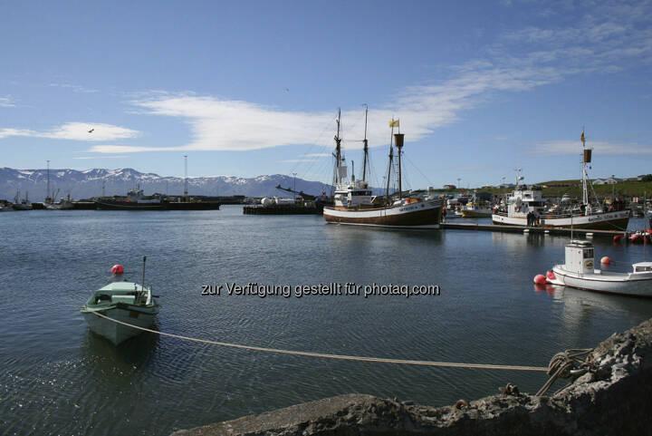 Husavik, Hafen - Island