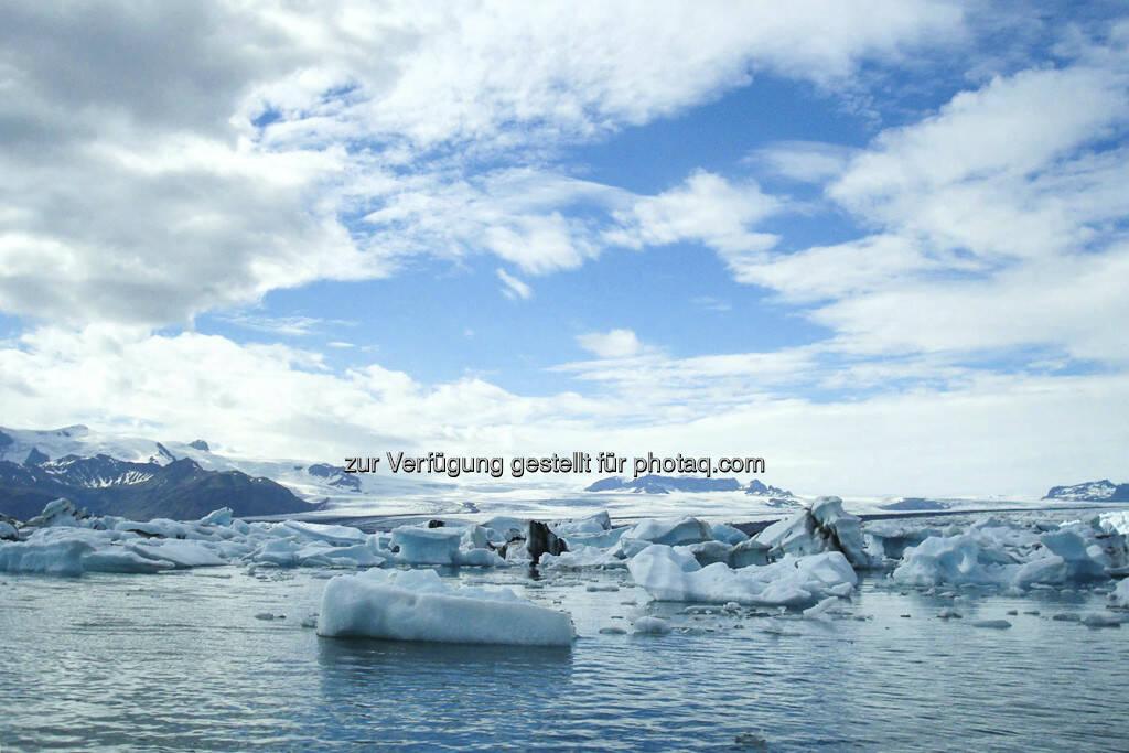 Eisschollen - Island, © Gabriele Hartweger (15.07.2013)