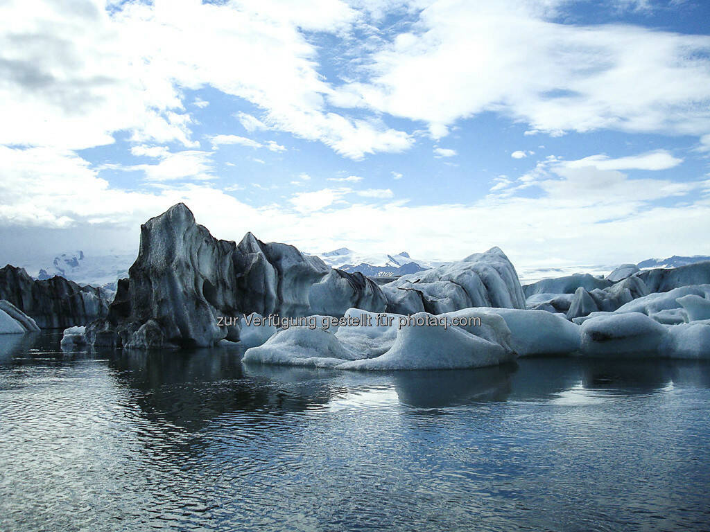 Eisberge - Island, © Gabriele Hartweger (15.07.2013)