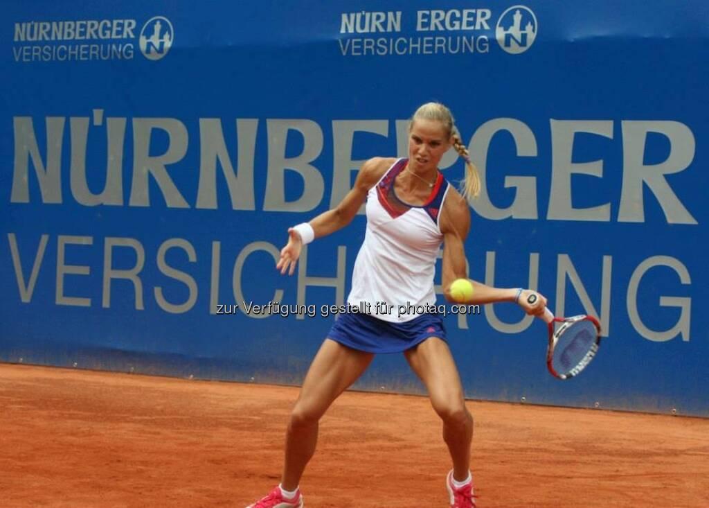 Arantxa Rus beim Nürnberger Gastein Ladies, Tennis - mehr unter https://www.facebook.com/GasteinLadies (17.07.2013)