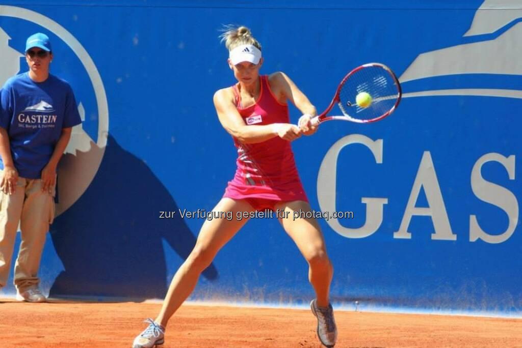 Lisa-Maria Moser beim Nürnberger Gastein Ladies, Tennis - mehr unter https://www.facebook.com/GasteinLadies (17.07.2013)