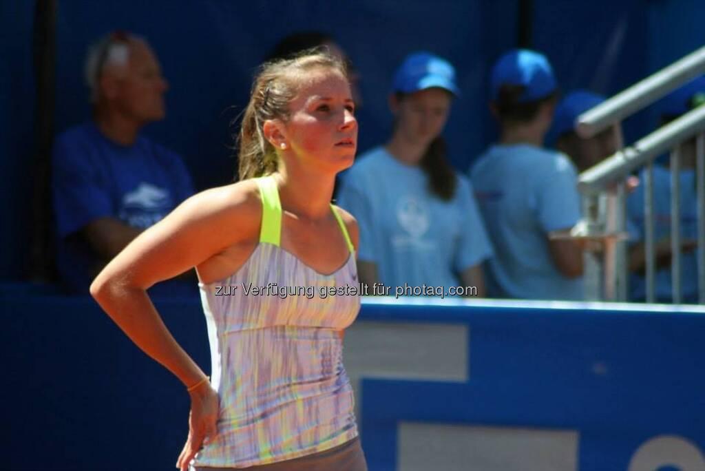 Annika Beck beim Nürnberger Gastein Ladies, Tennis - mehr unter https://www.facebook.com/GasteinLadies (17.07.2013)