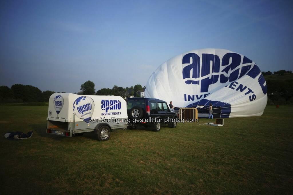 apano-Ballon, © Dirk Herrmann (18.07.2013)